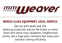MM Weaver is your enthusiastic supporter and supplier as you get work done, stay profitable, and feed the world.